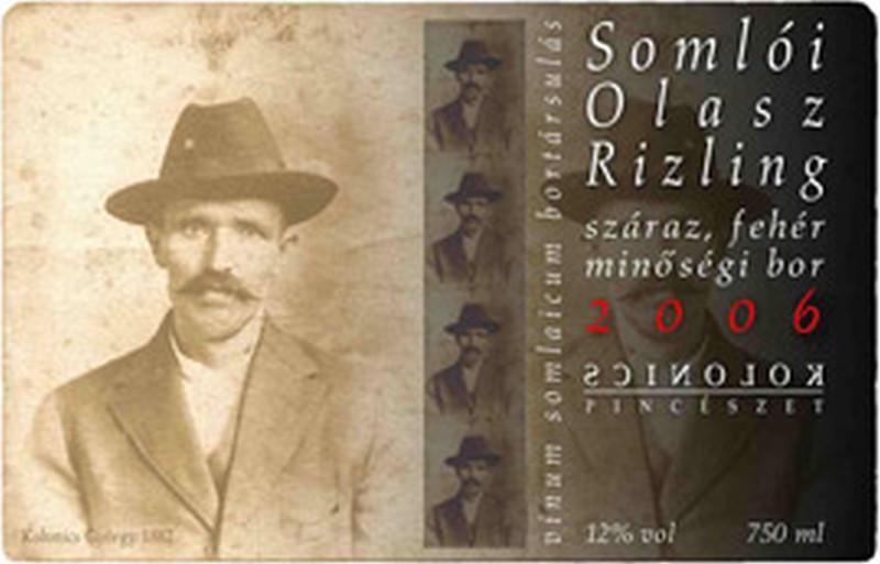 Kolonics Somloi Olaszrizling 2006, 750 ml