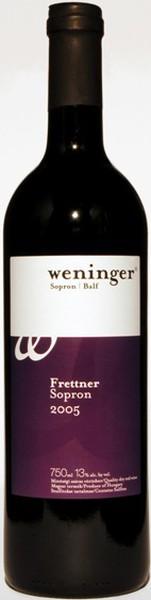 Weninger Frettner 2005, 750 ml