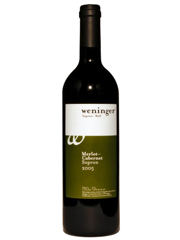 Weninger Merlot Cabernet 2005, 750 ml