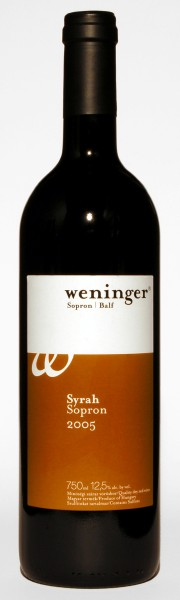 Weninger Syrah 2005, 750 ml